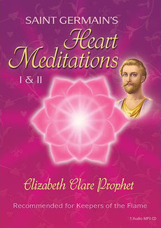 cover image of the audio album of Saint Germain's Heart Meditations