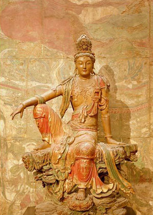 Statue of Kuan Yin, Nelson-Atkins Museum of Art, Kansas City, Missouri