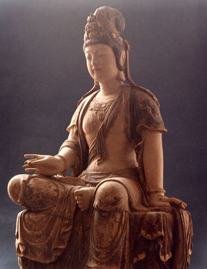 Kuan Yin, seated